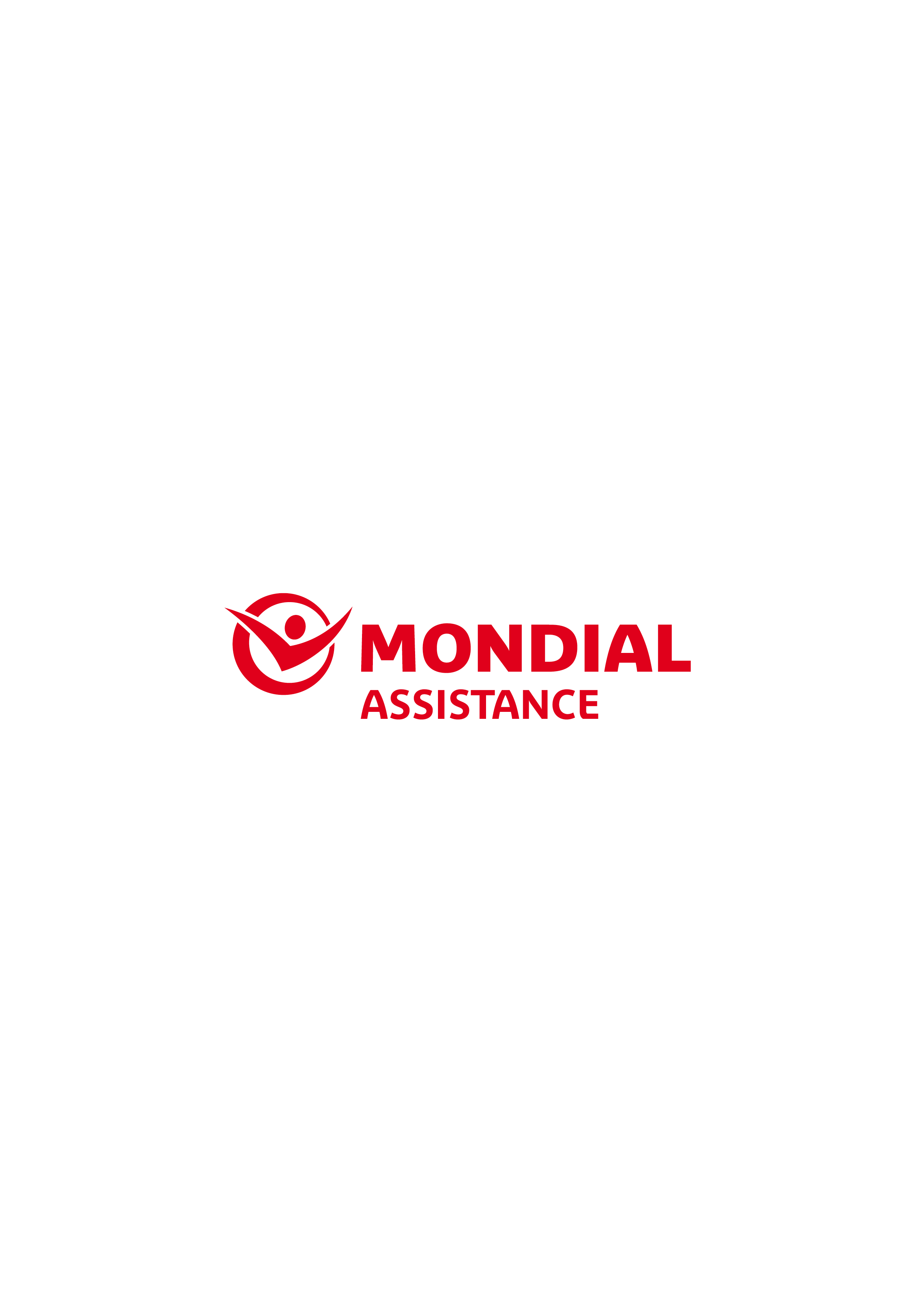 Mondial Red Logo White Lozenge